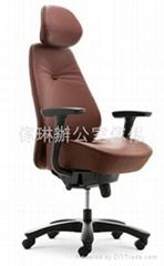 高背大班椅(连头枕)