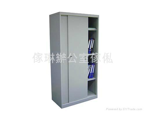 高身趟門鋼櫃 1