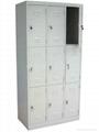 九门储物钢柜