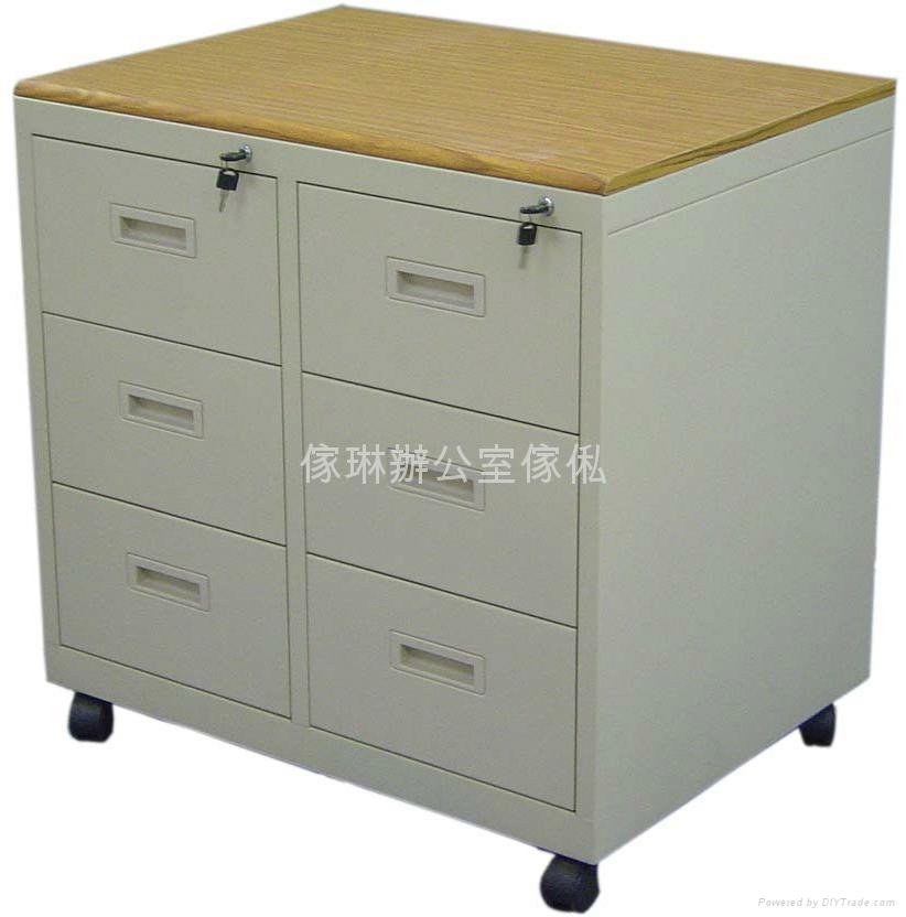 木面六斗影印機櫃 1