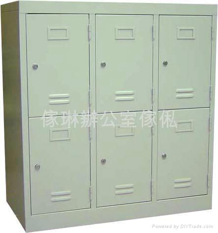 六門儲物鋼櫃 1