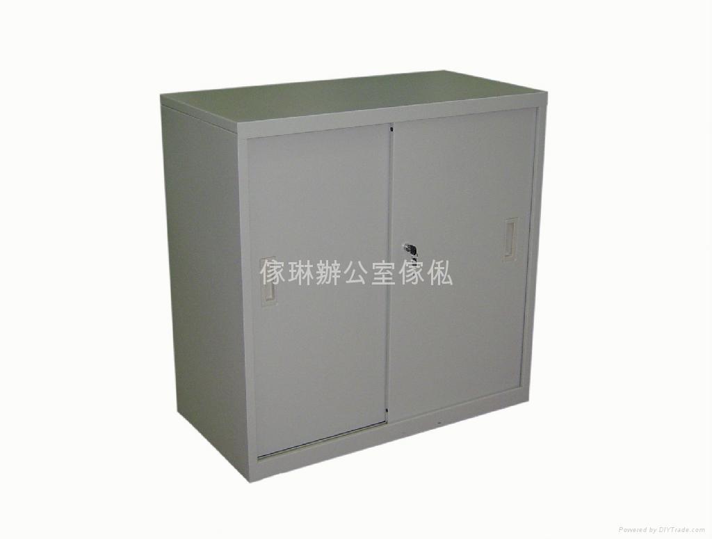 座地趟門文件鋼櫃 3