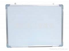 鋁邊白磁板