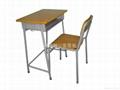傳統式學生檯椅