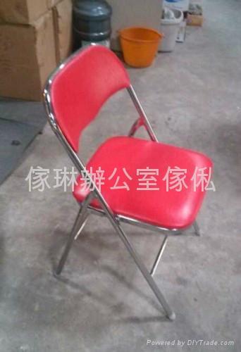仿皮摺椅 1