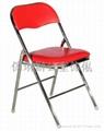 仿皮摺椅 2