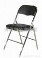仿皮摺椅 4
