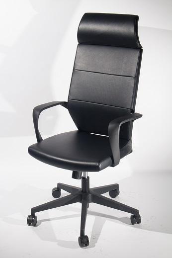 高背大班皮椅 ( B-008A ) 1