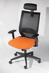 高背大班网椅 ( 718A )