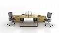 XD 新款鋼腳木面檯