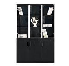 玻璃門文件櫃 3
