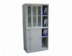 框玻璃门钢柜
