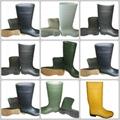 Half Boot Waterproof PVC safety Rain
