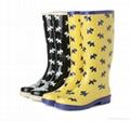 Waterproof PVC safety Rain Boots 2
