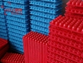 Multi Functional Platic Colore Tube Rack with Double Deck