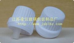 大头盖厂家直供,精油瓶通用型大头盖,白色
