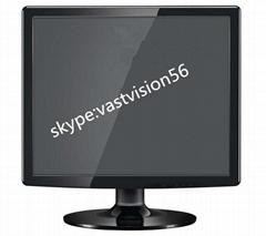 17-inch quad sreen CCTV Monitor with 1,280 x 1,024-pixel