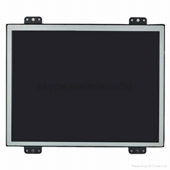 8-inch customized metal frame industrial lcd monitors with touch panel optional