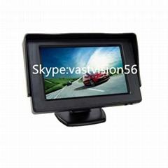 4.3 inch car lcd monitor