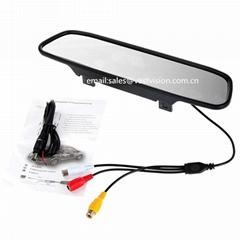 4.3 inch car rear view mirror monitor
