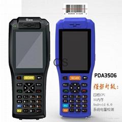 工厂供6.0PDA 4核 800万像素 手持智能PDA 1G8G QS3506 一件代发