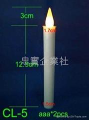 CL-5   15cm电子LED蜡烛
