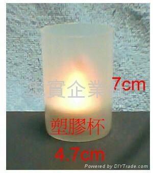 WA-1  浮水蠟燭盤
