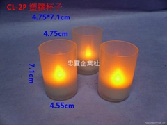 tea light candle led發光蠟燭