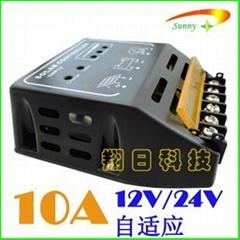 CMP12 10A12V24V太阳能控制器充电器家用户用