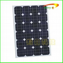 单晶硅太阳能电池组件50W