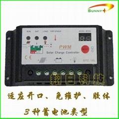SYC-10L-A型10A12V/24V太阳能控制器路灯控制器家用系统