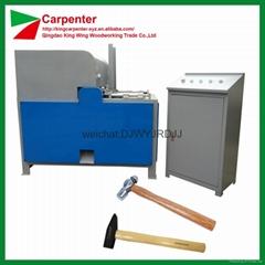 Wooden hammer handle making wood lathe machine
