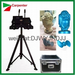 3d scanner for small objects and cnc router