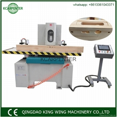 CNC mortiser wooden door hinge key hole