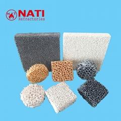 NATI Ceramic Foam Filter