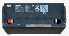 松下蓄电池12V65AH/LC-P1265ST/12-65AH/UPS/EPS直流屏用现货