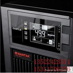 山特UPS电源 C3KS 3KVA /2400W 后备延时2小时 8节12V65AH