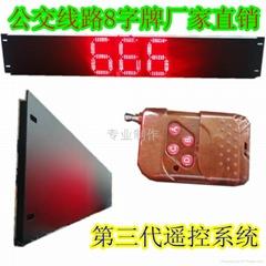 LED8字牌公交广告屏
