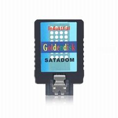 索泰盒用DOM盤SATA創口固態硬盤 16GB
