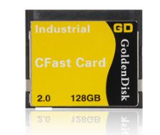 128GB CFAST SSD迷你固态硬盘相机内存卡标准CF尺寸