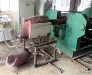 elbow hot  forming hydraulic press machine  Гидравлический толкать система колен 2