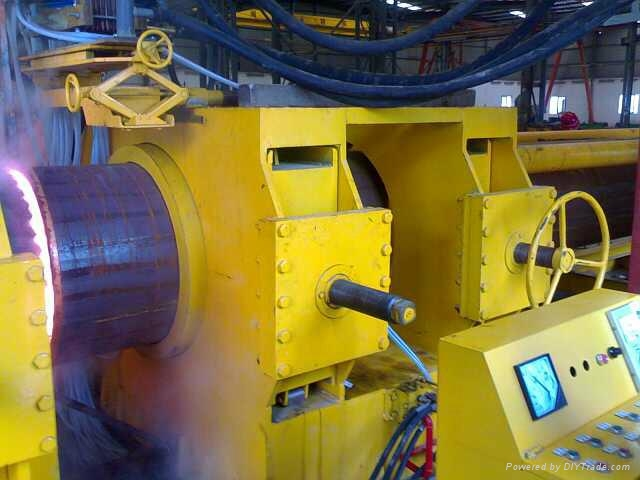 OD.2500mm 40mm thick carbon steel pipe bending hydraulic machine 1