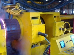 OD.2500mm 40mm thick carbon steel pipe bending hydraulic machine