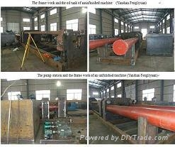 OD.2500mm 40mm thick carbon steel pipe bending hydraulic machine 4