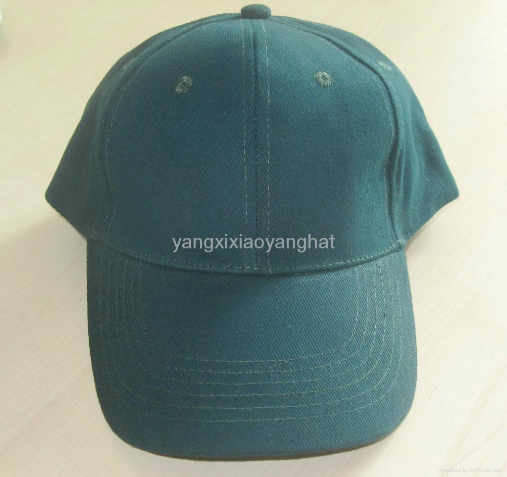 陽西曉陽帽袋廠供應純棉光身高檔棒球帽鴨舌帽 1