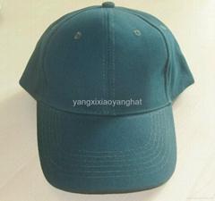 阳西晓阳帽袋厂供应纯棉光身高档棒球帽鸭舌帽