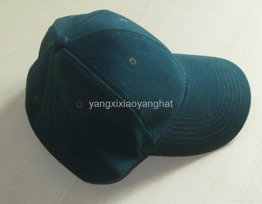 陽西曉陽帽袋廠供應純棉光身高檔棒球帽鴨舌帽 3