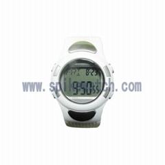 时霸防水测心率手表