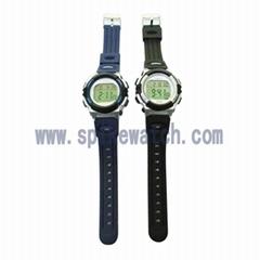多功能震動電子手錶