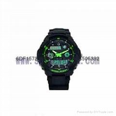 时霸双显示运动手表